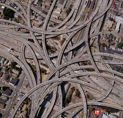 重庆网红景点之最复杂立交桥
